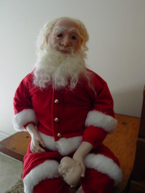 Blog porcelain santa