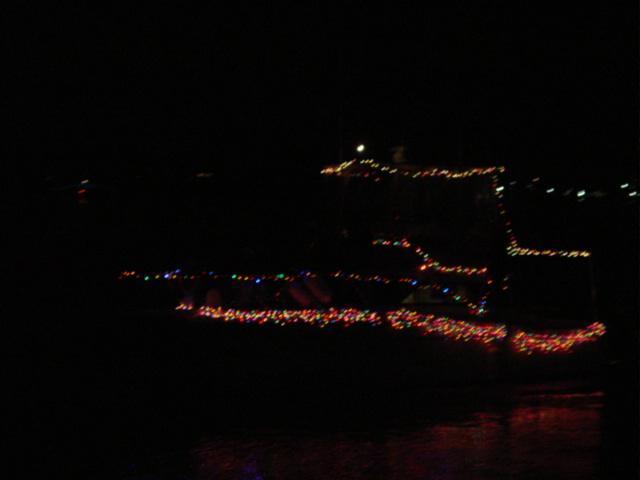 Blog christmas parade boat