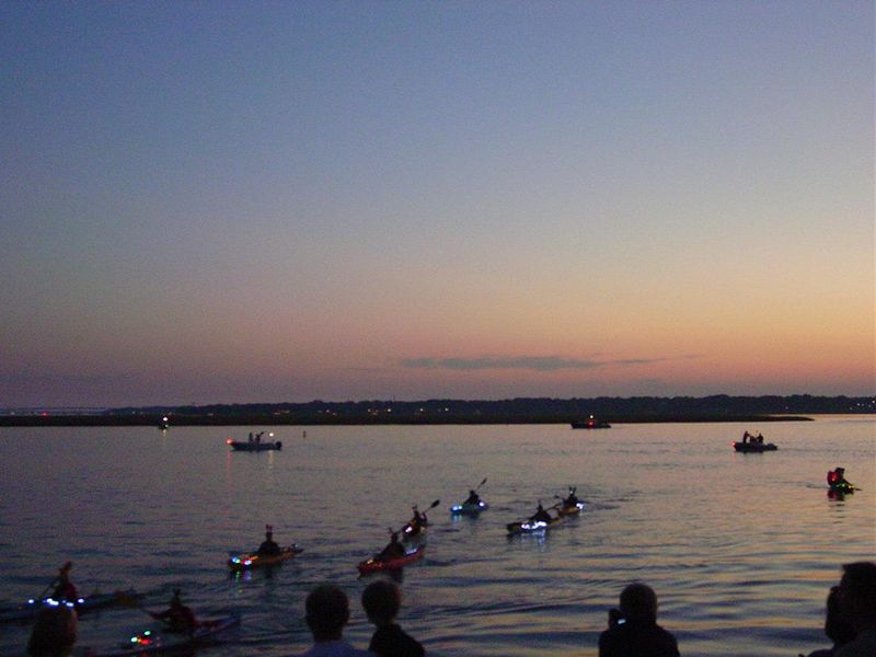 Blog christmas parade sea kayakers