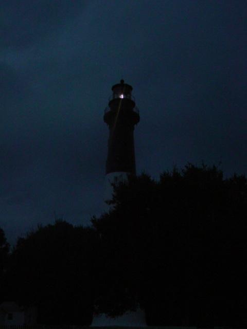 Blog lighthouse at night 12 21 08