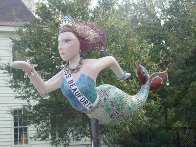 Beaufort mermaid
