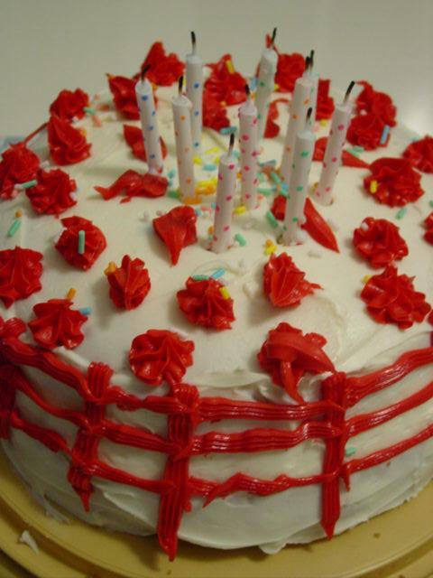Blog 10 bday cake