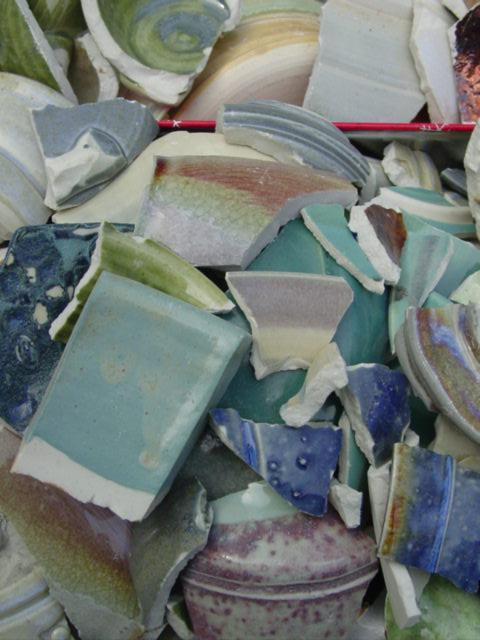 Blog pretty pottery shards
