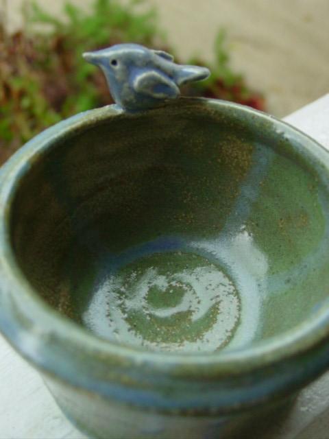 Blog bird pottery