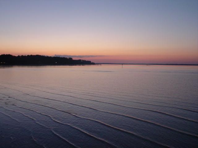 Blog coosaw sunset