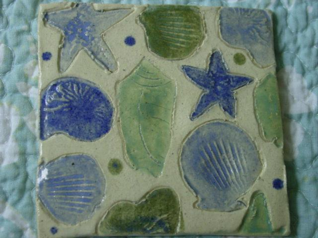 Blog stamped tile