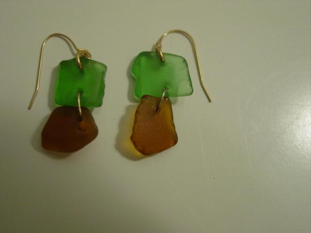 Blog heathers beachglass earrings